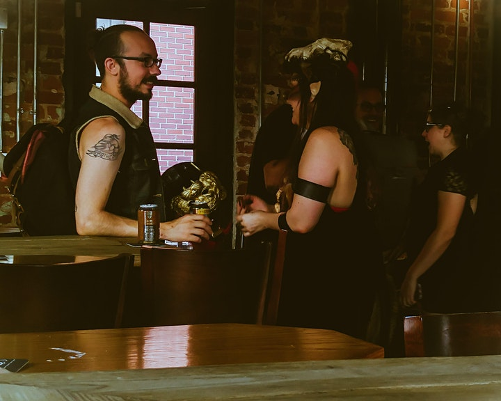 ATL D&D Bar Crawl IV: The Devil's Night image