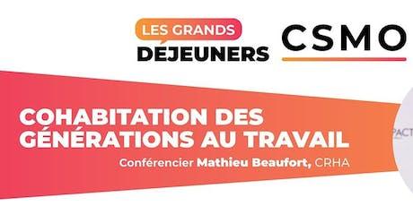 Grands déjeuners CSMO - Saint-Marc-sur-Richelieu tickets