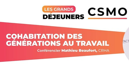 Grands déjeuners CSMO - Laval
