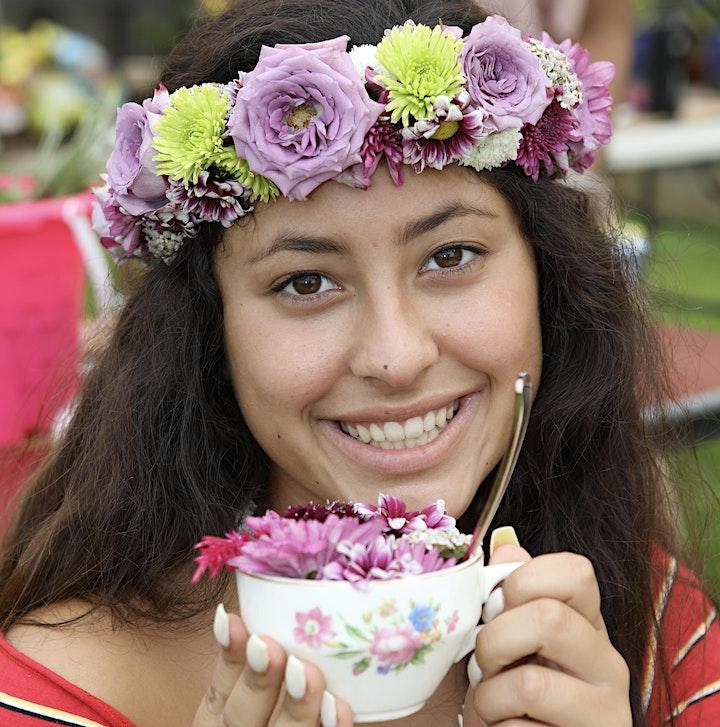 Teacups & Tiaras - Hands-on workshop crafting floral crowns & teacups image