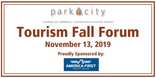 Park City Chamber/Bureau: 2019 Tourism Fall Forum & Lunch