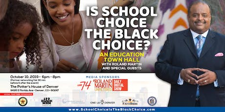Is School Choice the Black Choice? Keeping it 100 for Denver students tickets