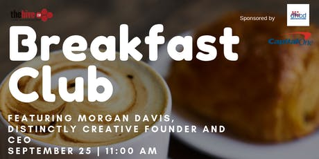 Breakfast Club | Featuring Morgan Davis tickets