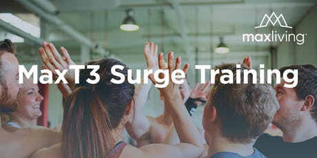MaxT3 Surge Training Experience October 2019 tickets
