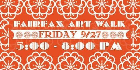 Fairfax Art Walk 2019 tickets