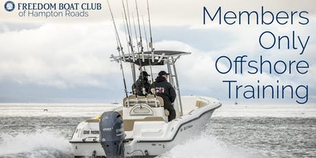 MEMBERS ONLY Off-Shore Training tickets
