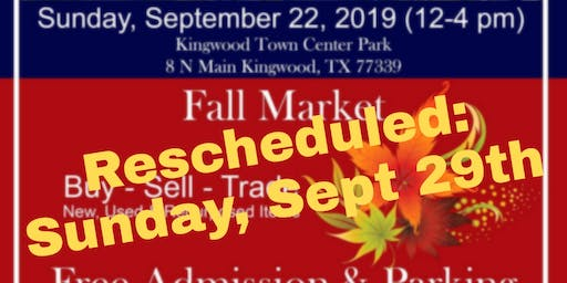 Fall Market at Kingwood Trade Days