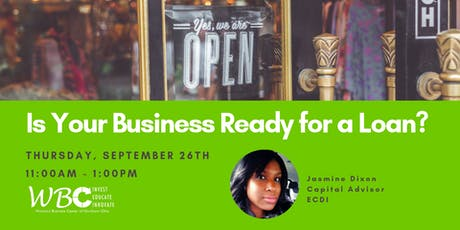 Is your business ready for a loan? tickets
