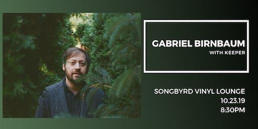 Gabriel Birnbaum at Songbyrd Vinyl Lounge