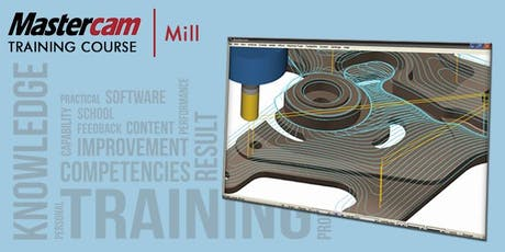 Mill Part 1 - 2D Machining (KVCC - 4 Days) tickets