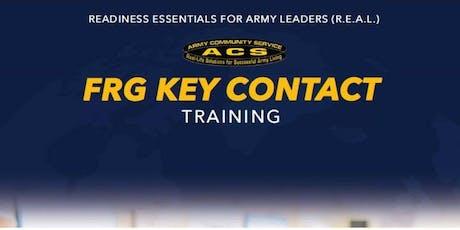 R.E.A.L SFRG: Key Contact Training tickets