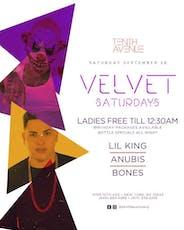 Velvet Saturdays @10thAvenueNY ~ DJs Lil King + Anubis + Bones tickets