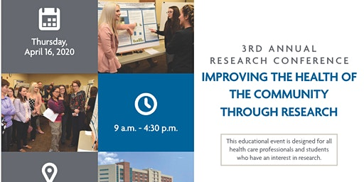 Third Annual CoxHealth Research Conference: Improving the Health of the Community Through Research