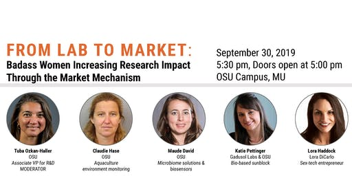 FROM LAB TO MARKET: Badass Women Increasing Research Impact