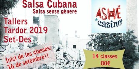 CLASSE DE SALSA CUBANA BÀSIC/INTERMIG entradas