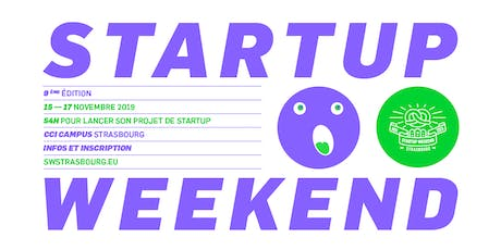 Techstars Startup Weekend Strasbourg 11/19 tickets