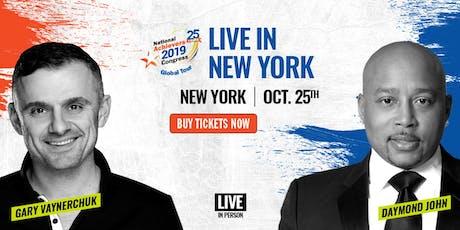 National Achievers Congress New York 2019 - Gary Vee and Daymond John tickets