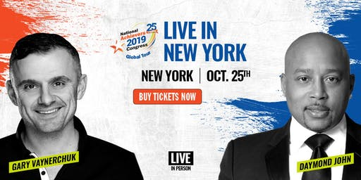 National Achievers Congress New York Are 2019 - Gary Vee and Daymond John