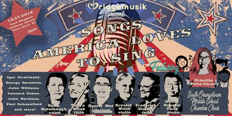 "BridgeMusik presents: ""Songs America Loves to Sing"" tickets"