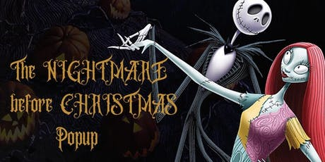 Nightmare Before Christmas Popup Market tickets