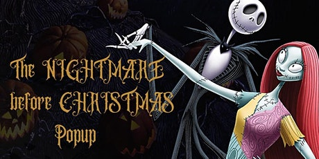 Nightmare Before Christmas Popup Market tickets