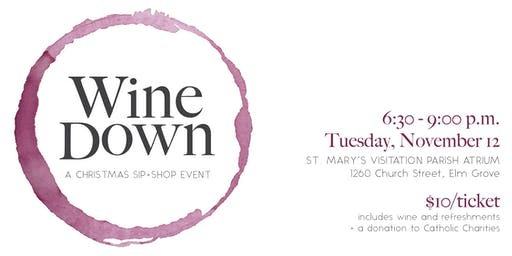 Wine Down: A Christmas Sip + Shop Event