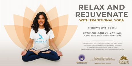 Relax & Rejuvenate with Traditional Yoga tickets