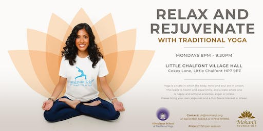 Relax & Rejuvenate with Traditional Yoga