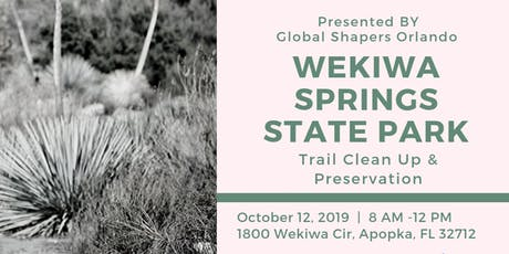 Wekiwa Springs Trail Clean Up tickets