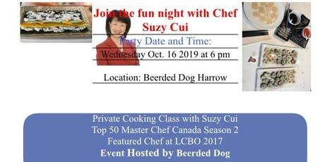 Sushi Class with Chef Suzy Cui tickets