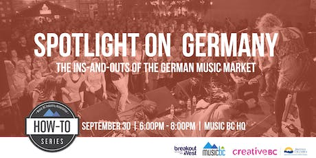 Spotlight on the German Music Market tickets