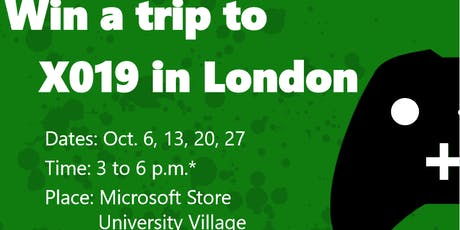 Road to X019: Win a trip to London! tickets
