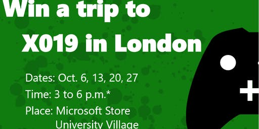 Road to X019: Win a trip to London!