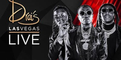MIGOS LIVE - Drais Nightclub - #1 Vegas HipHop Party