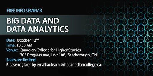 Free Info Seminar on Big Data and Analytics