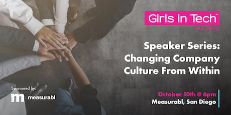 Speaker Series: Changing Company Culture From Within tickets
