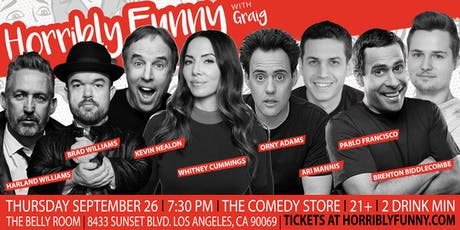 Horribly Funny- Kevin Nealon, Whitney Cummings, Harland Williams & More! tickets