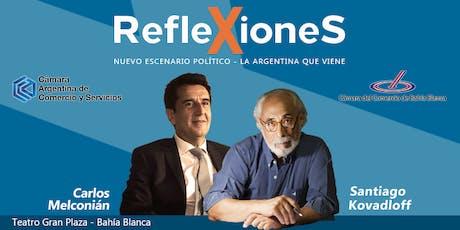 REFLEXIONES - Nuevo escenario político - La Argentina  que viene. entradas