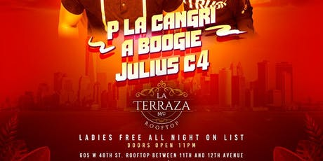 1 Free Drink + Free Entry to La Terraza Rooftop NYC, Only Latin Roof Party! tickets
