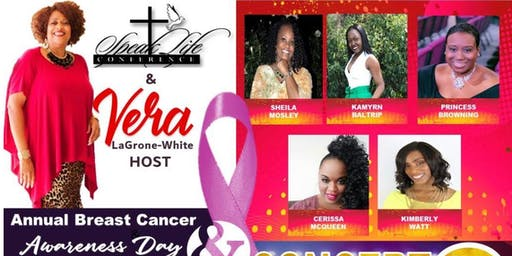 Speak Life Conference Annual Breast Cancer Awareness Day Concert
