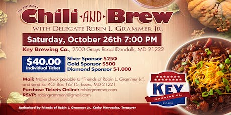 7th Annual Chili and Brew! tickets