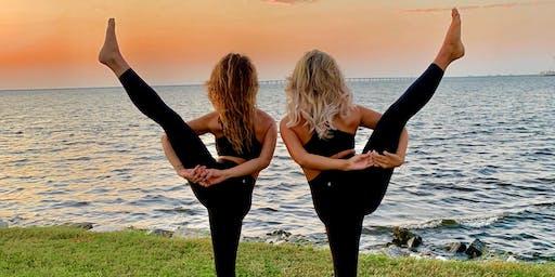 Yoga & Namaste for Rosé at WTR