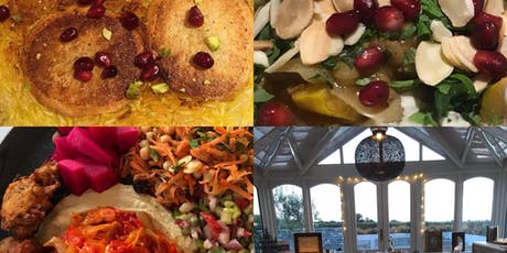 The Riad Supper Club Vegetarian Middle Eastern Evening   tickets