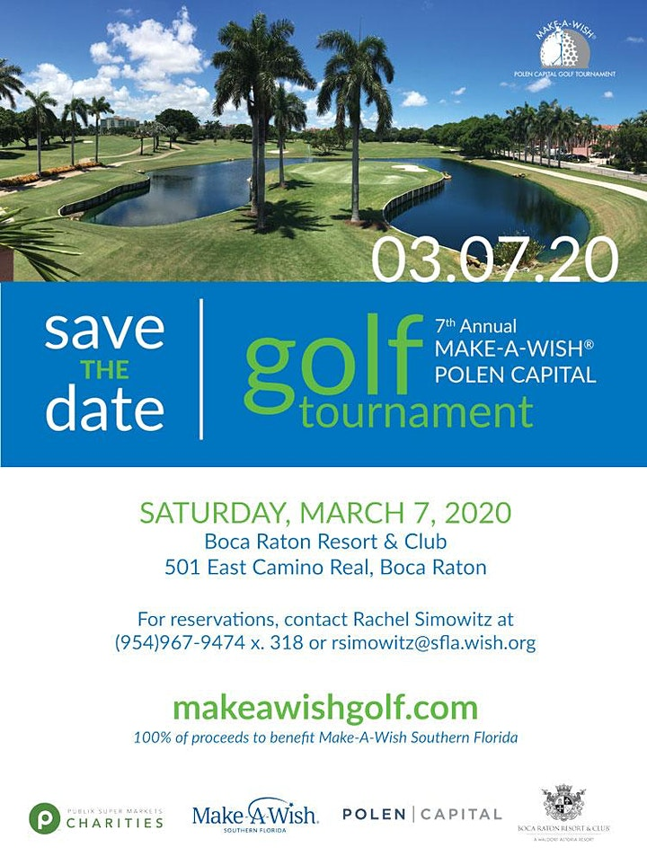 7th Annual Make-A-Wish Polen Capital Golf Tournament image