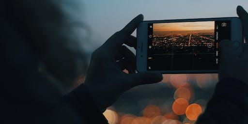 Workshop fotografia com o celular, com Renata Stoduto