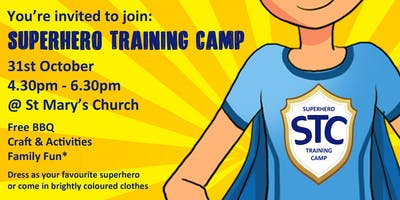 Superhero Training Camp