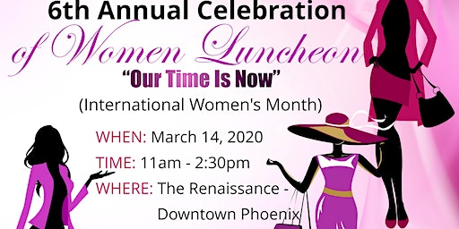 6th Annual Celebration of Women Luncheon