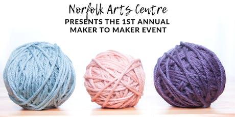 Destash Sale at the Norfolk Arts Centre - Vendor Tables tickets
