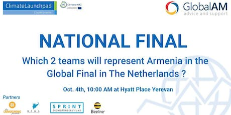 ClimateLaunchpad Armenia Final Pitching Event tickets