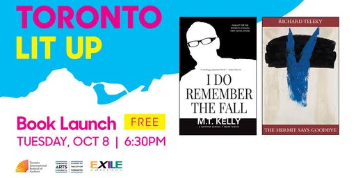 Toronto Lit Up: Exile Editions' Fall Releases